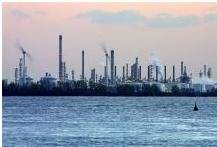 Project industriewater bedrijventerrein Moerdijk met Shell Chemie Nederland